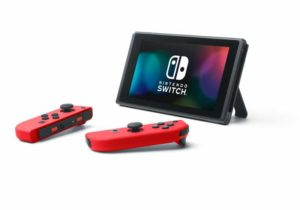 Nintendo Switch mit Standfuß